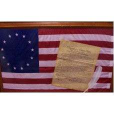 Betsy Ross Flag With Constitution