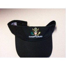 Camp David Black Sun Visor