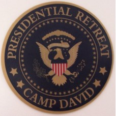 Camp David Mouse Pad