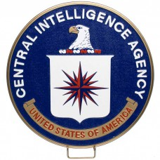 Central Intelligence Agency Plaque