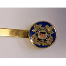 Coast Guard Tie Bar