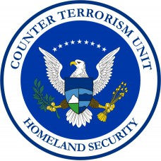 Homeland Security - Counter Terrorism Unit Long Sleeve Polo -Gray