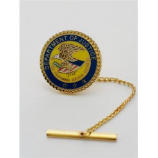 Department Of Justice Tie Tack