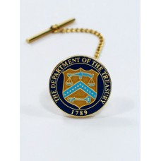 Department of the Treasury Tie Tack