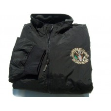 Diplomatic Security Black Nylon Jacket