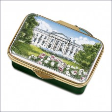 Enamel Box White House 1914
