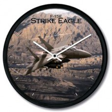 F15 Strike Eagle Wall Clock