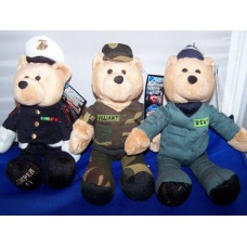 Marine, Army, or Air Force Hometown Heroes Bear