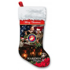 Marine OR Navy Christmas Stocking