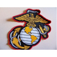 Marine Globe and Anchor Back Patch
