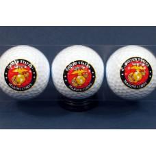 Marine Logo golf Balls