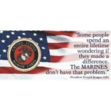 Marine Mug: Reagan Quote Mug