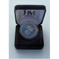 Marine Silver Medalion
