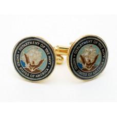 Navy CuffLinks