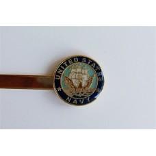 Navy Tie Bar