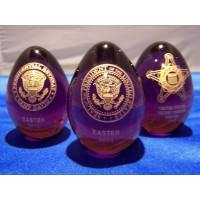 Official Glass Easter Eggs 2010