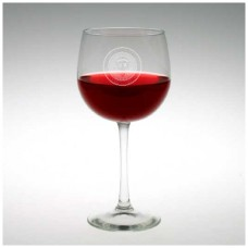 Presidential Seal Red Wine Glass Set