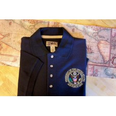 Air Force One Signature Polo -Navy