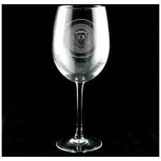 Seal of the President Wine Glass Set
