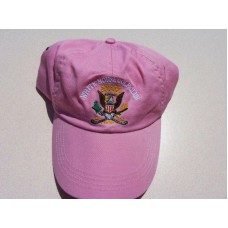 White House Golf Club Pink Hat