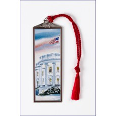 THE WHITE HOUSE IN WINTER BOOKMARK.
