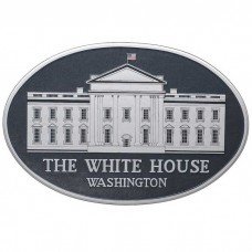 The White House Plaque